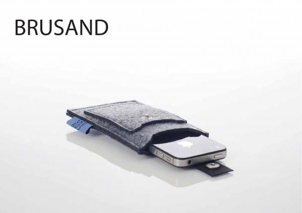 Mobilveske - Erdnos Brusand