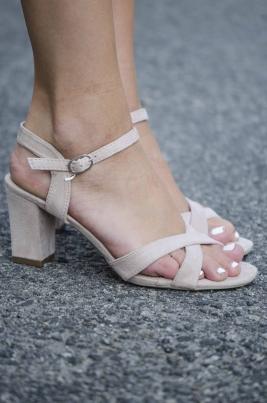 Sandaler - Andrea Beige