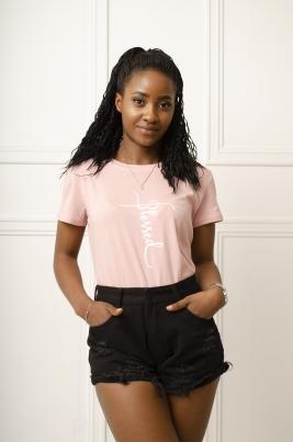 T-Skjorte - Allison rosa