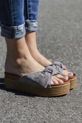 Sandaler - Emilia grå
