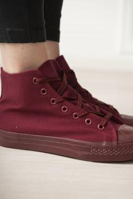 Sneakers - Kurby vinrød