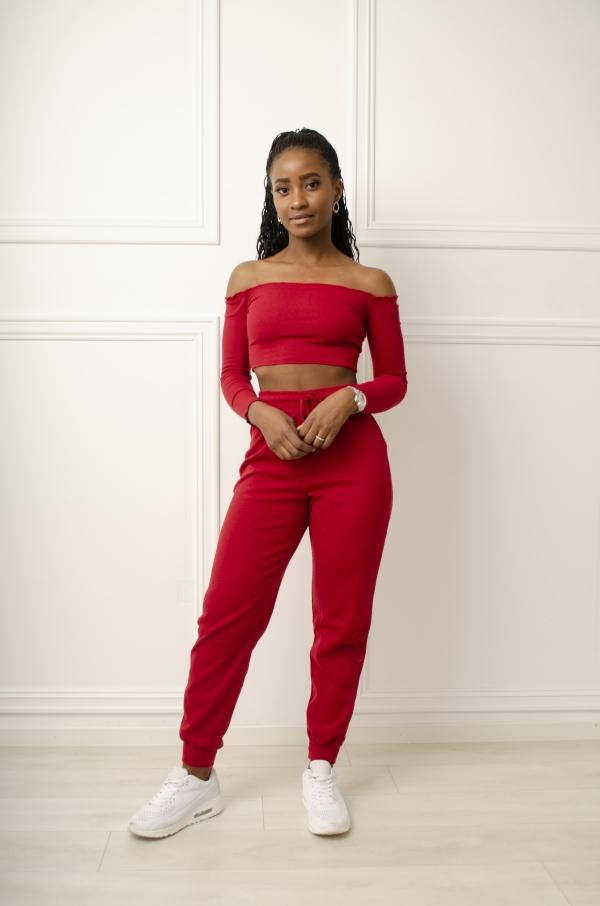 Kosedress - Mona rød