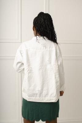 Jakke - Monica hvit