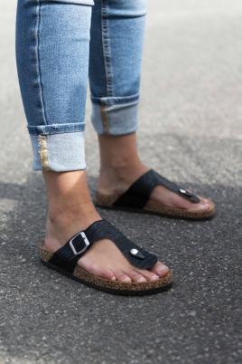 Sandaler - Sally svart