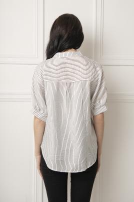 Skjorte - Kine hvit