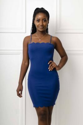 Kjole - Alina blå