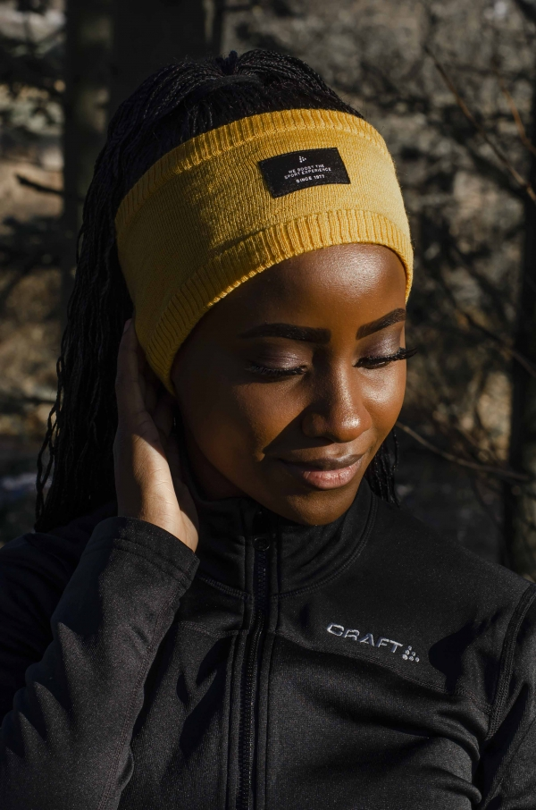 Craft -Urban knit headband Gul