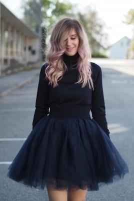 TuTu Skjørt - Celine mørk blå short