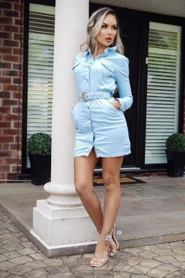 Kjole - Siri blå