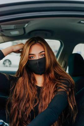 Maske - Svart slim