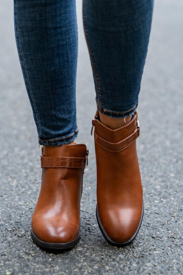 Boots - Karla camel