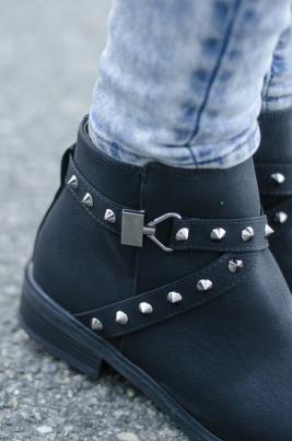 Boots - Amy svart