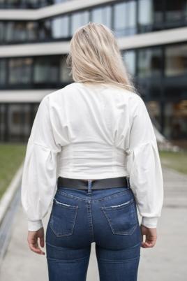 Skjorte - Miranda hvit