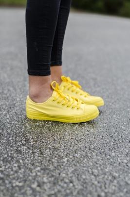 Sneakers - Tessa gul