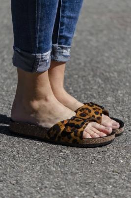 Sandaler - Hazel leopard