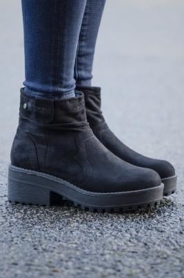 Boots - Alyssa svart