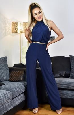 Jumpsuit - Tanaya blå