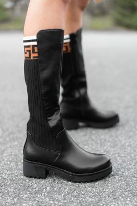 Støvletter - Mona svart