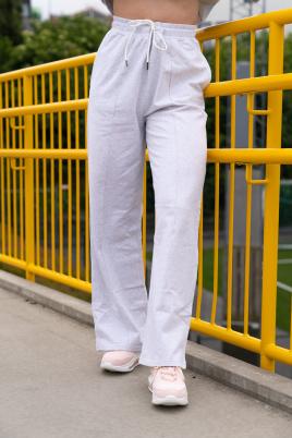 Joggebukse - Essentials straight leg lys grå