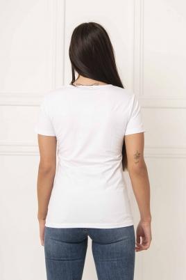 T-skjorte - Pow hvit