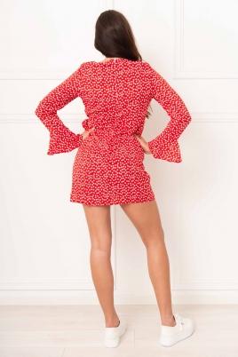 Kjole - Julie rød