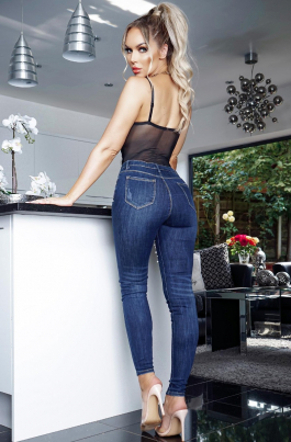 Jeans - Perrie blå