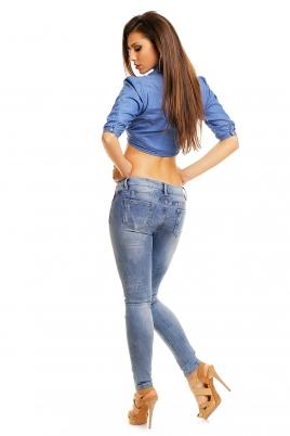 Jeans - Vilde blå