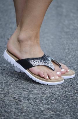 Sandaler - Rebecca svart