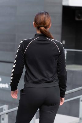 Hummel - hml ZIBA short zip jacket svart