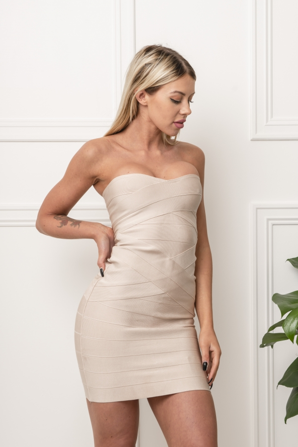 Kjole - North Exclusive Adell Beige