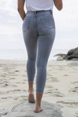 Jeans - Malena grå