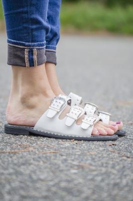Sandaler - Cloe hvit