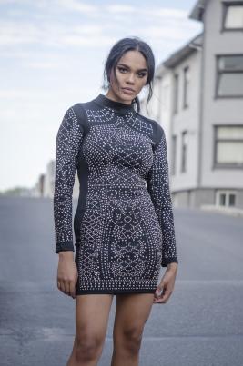 Kjole - North Exclusive Bodycon Svart