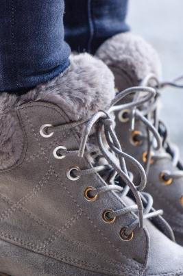 Boots - Sanna grå