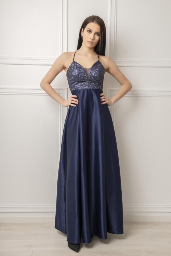 Kjole - Cayla blå