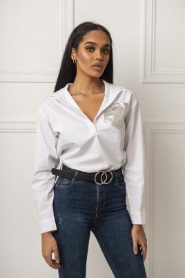 Skjorte -Katelyn hvit