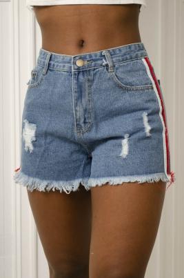 Shorts - Holly blå