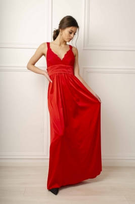 Kjole - Cienna rød