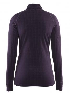 Craft - Warm Nordic Wool Zip Neck W Rich
