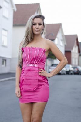 Kjole - Melinda Rosa