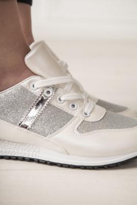 Sneakers - Miriam hvit