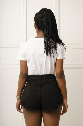 T-Skjorte - Jordyn hvit