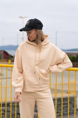 Hettegenser - Essentials oversized beige