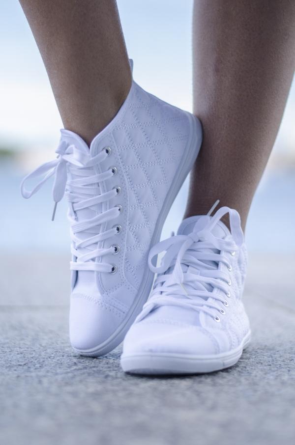 Sneakers - Gloria hvit