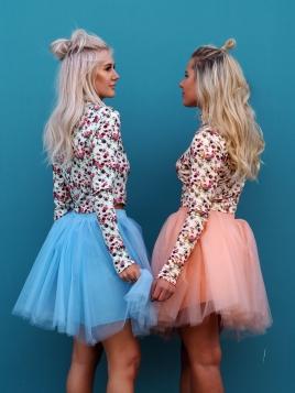 TuTu Skjørt - Celine lys blå short