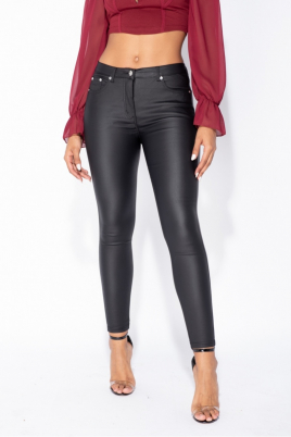 Jeans - Stine svart PU