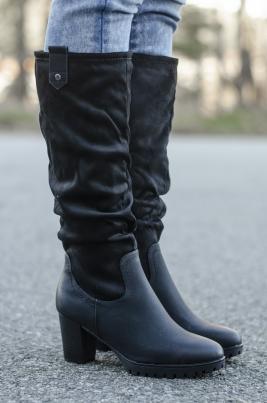 Støvletter - Hedda svart