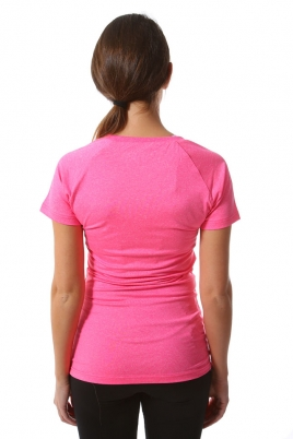 Treningstopp - MXDC Ladies work out tee rosa