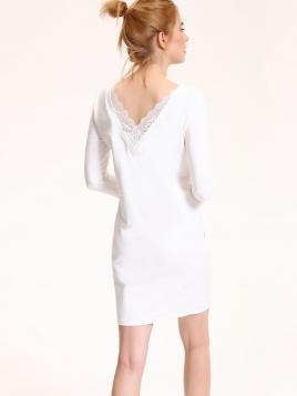 Kjole - Essie krem hvit