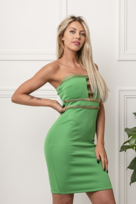 Kjole - Nancy grønn